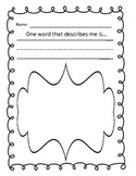 Descriptive Writing Practice for Primary Grades