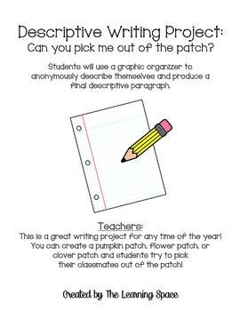 Descriptive Writing Project