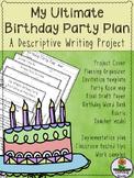 Descriptive Writing Project: Birthday