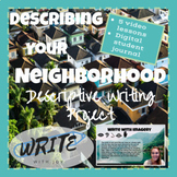 Descriptive Writing Project-Describing Your Neighborhood-Virtual Writing Lessons