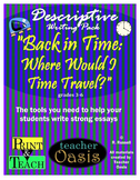 """Descriptive Writing Prompt """"Back in Time: Where Would I Ti"""