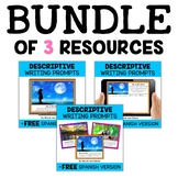 Descriptive Writing Prompt Bundle
