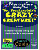 "Descriptive Writing Prompt ""Dr. Freakenstein's Crazy Creature!"""