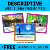 Descriptive Writing Prompt Task Cards