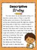 Descriptive Writing Prompts