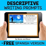 Descriptive Writing Prompts for Google Classroom