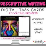 Descriptive Writing Prompts for Google Classroom