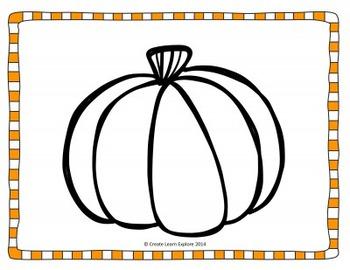 Descriptive Writing Pumpkins for Halloween