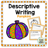 Descriptive Writing Pumpkins for Halloween