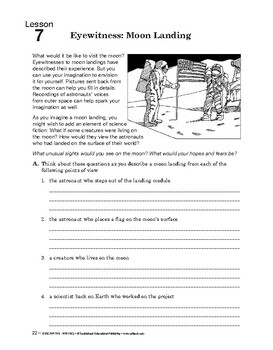 Descriptive Writing: Sentence Structure