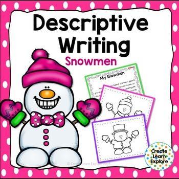 Descriptive Writing Snowmen