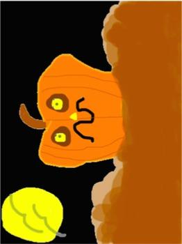 Descriptive Writing Spooky Squiggle