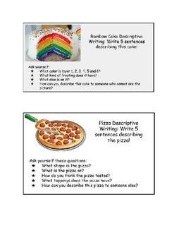 Essay Samples For High School Descriptive Writing Starters Food National Honor Society High School Essay also University English Essay Descriptive Writing Starters Food By Freebies For Strd Grade Essay Vs Paper