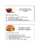 Descriptive Writing Starters: Food