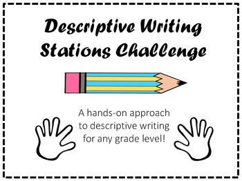 Descriptive Writing Stations Challenge