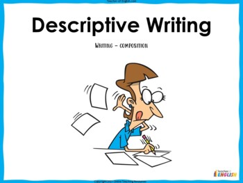 Descriptive Writing Teaching Resources