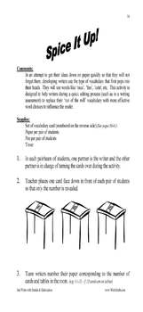 descriptive writing activities examples 3rd 4th 5th 6th grade. Black Bedroom Furniture Sets. Home Design Ideas
