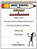Descriptive Writing Activities & Examples - 3rd, 4th, 5th,