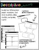 Descriptive Writing Templates Sample