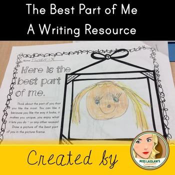 Descriptive Writing - Best Part of Me - Self Esteem and Body Image