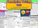 Descriptive Writing Unit from Lightbulb Minds