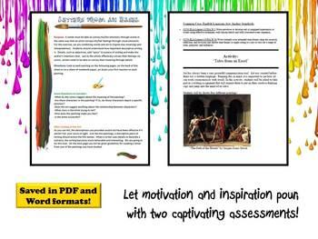 Descriptive Writing Using Art
