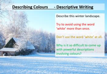 Descriptive Writing - Using Color