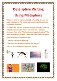 Descriptive Writing Using Metaphors