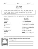Descriptive Writing - Using the Giver