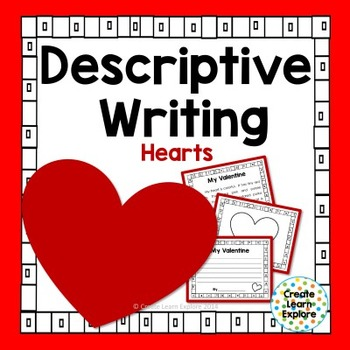 Descriptive Writing Valentines