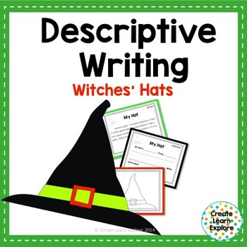 Descriptive Writing Witch Hats