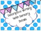 Descriptive Writing With Sensory Details Printable Booklet