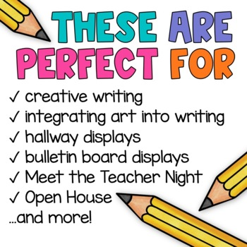 Descriptive Writing YEARLY GROWING BUNDLE! - Exchange Projects
