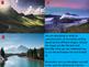 Descriptive Writing of the Natural World