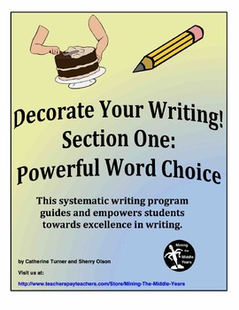 Descriptive Writing - powerful vocabulary (word choice)