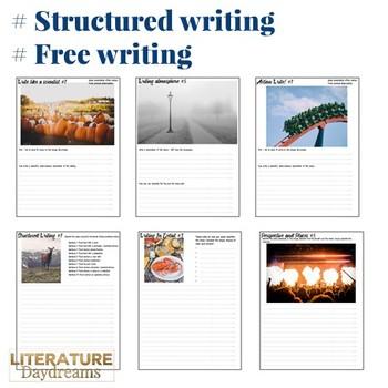 Descriptive Writing tasks for Fall Autumn set 2