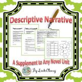 Descriptive Writing Novel Unit Supplement