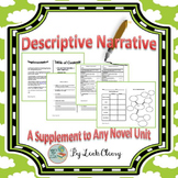 Descriptive Writing Novel Unit Supplement