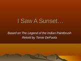 Descriptive Writing using Sunsets - Corresponding Powerpoint
