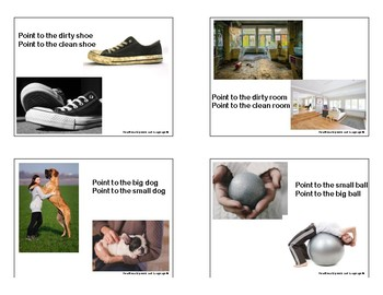 Descriptors Adjectives Photo Cards