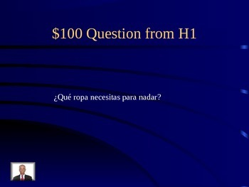 Descubre 1 Ch6 Clothing Jeopardy for Review