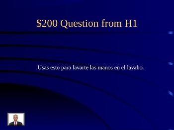 Descubre 1 Chapter 7 Reflexive Verb Review Jeopardy