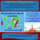 Descubre 1 L5 Los viajes Listening Comprehension Exercise