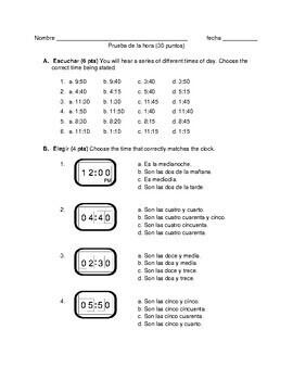 Descubre 1 Lección 1: Grammar quizzes 3-5