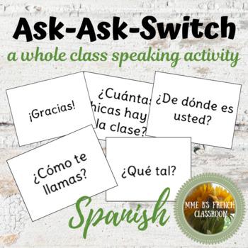 Descubre 1 Lección 1: Quiz-Quiz-Trade: a whole class speaking activity