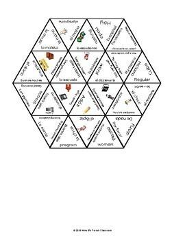 Descubre 1 Lección 1 Vocabulary puzzle: Hola, ¿qué tal?