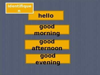 Descubre 1 Lección 1 Vocabulary PowerPoint