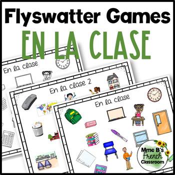 Descubre 1 Lección 2: En la clase flyswatter game