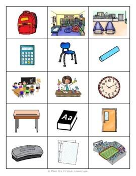 Descubre 1 Lección 2: Multi-game card set: En la clase