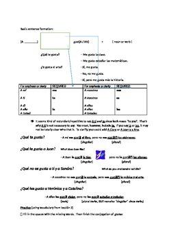 Descubre 1 - Leccion 2 - Test Review Materials
